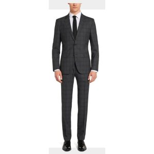 Johnstons/Lenon' | Regular Fit, Super 100 Virgin Wool Suit