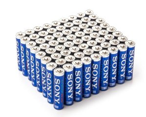 $18.5Sony AAA STAMINA PLUS Alkaline Batteries - 72 Pack