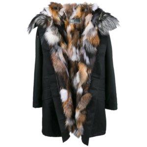 Yves Salomon Multi Fox Fur Parka | Kirna Zabete
