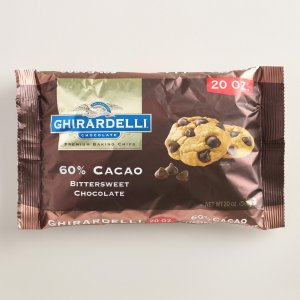 Ghirardelli 60% Cacao Bittersweet Chocolate Chips | World Market