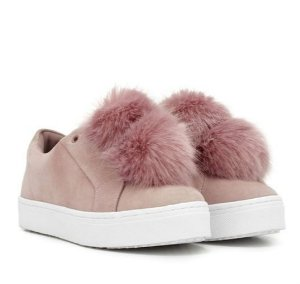 $100 Sam Edelman Leya Pom Pom Sneaker