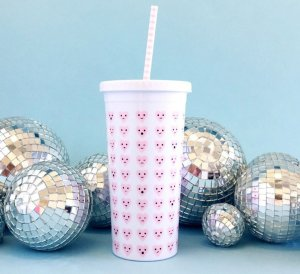 $6.98 BAN.DO 'Sip Sip - Hearts' Travel Tumbler @ Nordstrom