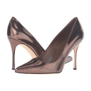 Sergio Rossi 金属色高跟鞋