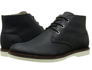 From $39.95 Lacoste Men's SHERBROOKE HI 116 1 Chukka Boot