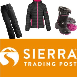 Up to 76% Off + Free Shipping Kids Winter Apparel Cyber Monday Sale @ Sierra Trading Post