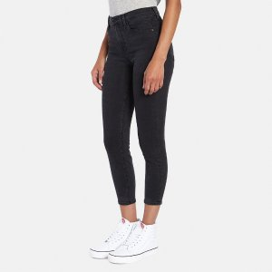 J Brand Alana High-Rise Crop Jean in Provocative Denim | ELEVTD Free Shipping & Returns