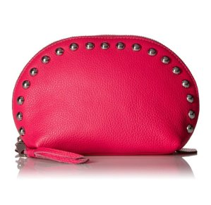 $36.43 Rebecca Minkoff Dome Pouch with Studs Cosmetic Bag