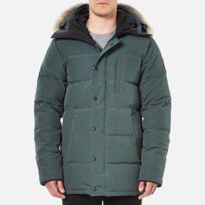 Canada Goose Men's Carson Down Filled Parka Jacket - Slate - Free UK Delivery over £50