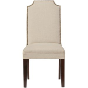 Custom Crysta Upholstered Dining Chair - Dining Chair - Dining Room Furniture | HomeDecorators.com