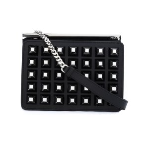 Fendi Pyramid Stud Shoulder Bag