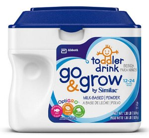 $9.99 Similac Go & Grow Formula Powder 22 Ounce