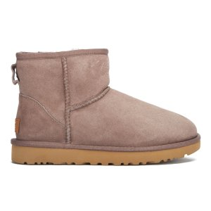 UGG Women's Classic Mini II Sheepskin Boots - Stormy Grey - FREE UK Delivery