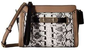COACH Accordion Exotics Swagger Wristlet