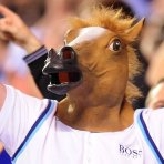 $17 Accoutrements Horse Head Mask