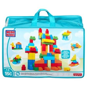 Mega Bloks First Builders Deluxe Building Bag - (150 Piece)