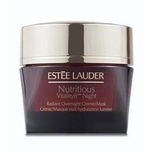 Sasa.com: Estee Lauder, RADIANT HEALTH Nutritious Vitality8™ Night Radiant Overnight Creme/Mask (50 ml)