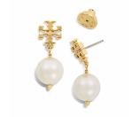 Tory Burch Crystal-pearl Drop Earring : Women's Jewelry | Tory Burch