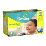 帮宝适Pampers Swaddlers婴儿纸尿裤超大包装
