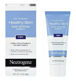 2 for $18.47 Neutrogena Healthy Skin Anti-Wrinkle Cream, Night Formula