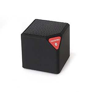 Lightning Deal Exkokoro(TM)mini WaterCube LED ver.Portable Wireless Bluetooth Speaker Subwoofer with Powerful Bass,LED Light Effect