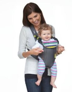 $14.99 Infantino Breathe Vented Carrier, Grey