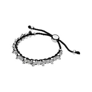 Friendship Bracelet - Grey with Skulls | Women Bracelets, Official Links of London