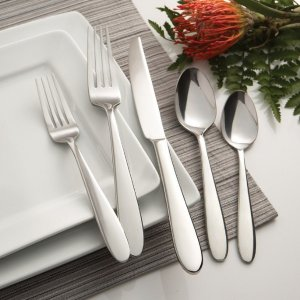 Buy 1 Get 1 Free + Free Shipping Fine and Casual Flatware (Sets of 4) @ Oneida