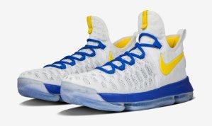 $195 Nike Zoom KD 9 iD Warriors Colorway