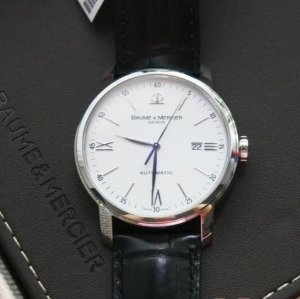 BAUME AND MERCIER MEN'S CLASSIMA EXECUTIVES WATCH MOA08592