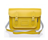 Unineed.com | Zatchels Pastel Daffodil Yellow Leather Satchel (size 11.5) - Bags - Premium beauty and fashion from Unineed.com