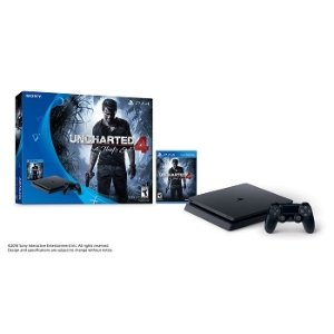 PS4 Slim 500 GB Uncharted 4 bundle