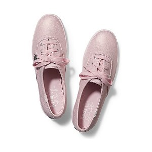 Women - TAYLOR SWIFT'S CHAMPION METALLIC CANVAS - Light Pink | Keds