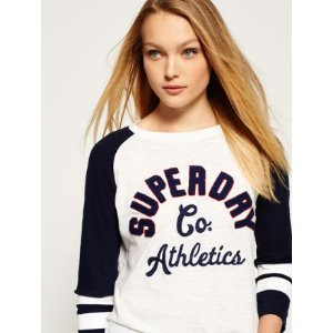 Varsity Applique Top