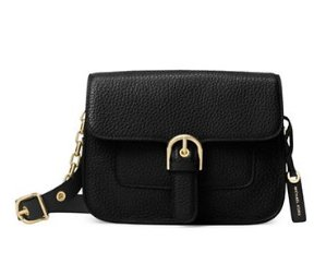 MICHAEL Michael Kors Grained Leather Shoulder Bag @ Lord & Taylor