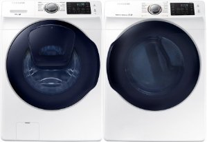 $499.99 Each Samsung 4.5 cuft Front Load Washer/ 7.5 cuft Electric Dryer