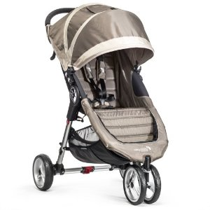 Baby Jogger City Mini Stroller In Sand, Stone Frame