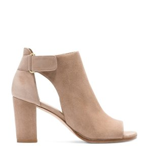 Opendoor Peep-Toe Booties - Shoes | Shop Stuart Weitzman