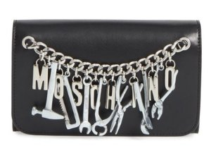 Moschino 'Tool Belt' Wallet on a Chain