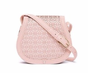 Fret-T Small Saddlebag @ Tory Burch