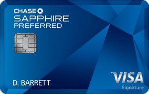 50,000 bonus pointsChase Sapphire Preferred® Card Offers 2X points on travel and dining