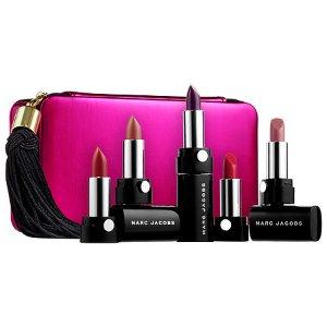 Up All Night Five-Piece Petites Le Marc Lip Crème Collection - Marc Jacobs Beauty | Sephora