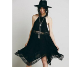 Free People Go Lightly Gauze & Lace Lots of Layers Slip Ballet - 6pm.com