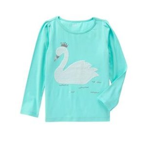 Sparkle Swan Tee at Crazy 8