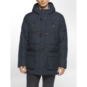 padded toggle hooded coat | Calvin Klein