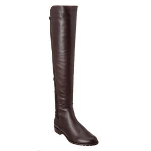 Stuart Weitzman Schizo Over-the-Knee Leather Boot