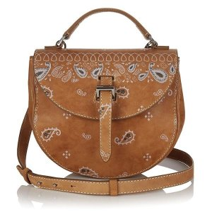 Ortensia saddle bag light tan bandana | meli melo Double 12 sale