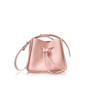 3.1 Phillip Lim Pink Soleil Mini Bucket Bag at FORZIERI