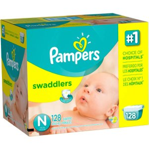Pampers Swaddlers Diapers, Size Newborn (Choose Diaper Count) - Walmart.com