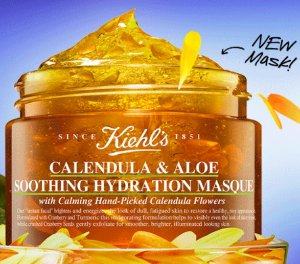 Dealmoon Exclusive!2 Free Deluxe SamplesCalendula & Aloe Soothing Hydration Masque @ Kiehl's