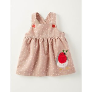 Winter Friends Cord Pinnie 73222 Dresses at Boden
